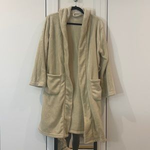 Super soft Soft beige robe